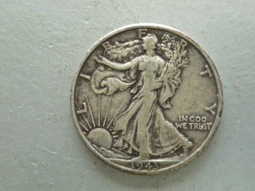 1943 - D   Walking Liberty Half Dollar