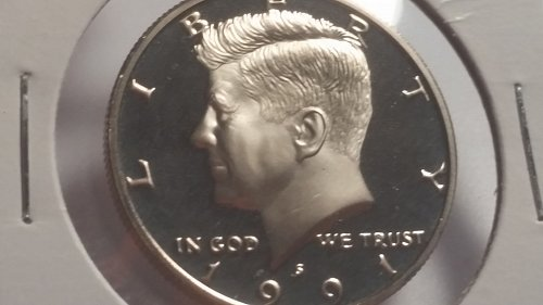 1991 PROOF KENNEDY / ABSOLUTELY PERFECT