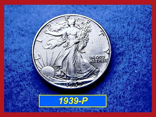 1939-P  Liberty Walking Half Dollar –––  (#1429)