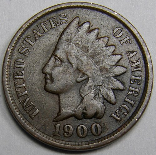 1900 P INDIAN HEAD CENT #7
