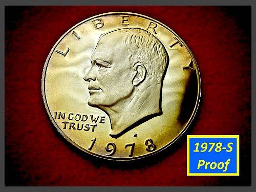 1978-S Eisenhower Dollar •••PROOF