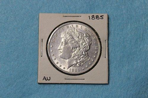 1885 P Morgan Dollar