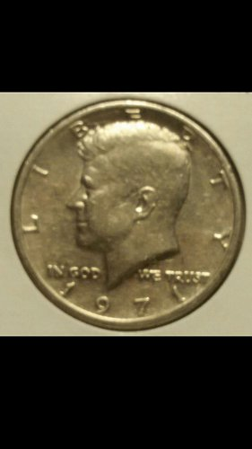 1971-p Kennedy half dollar DDR