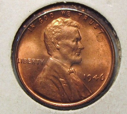 1946  WHEAT CENT