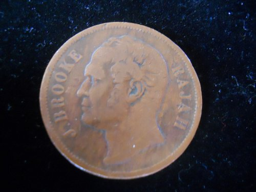 1863 Sarawak One Cent