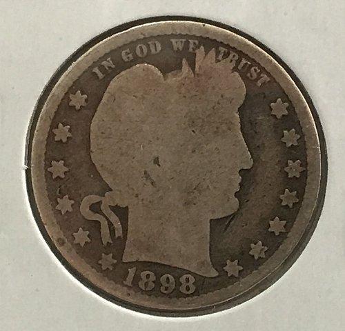 1898 P Barber Quater