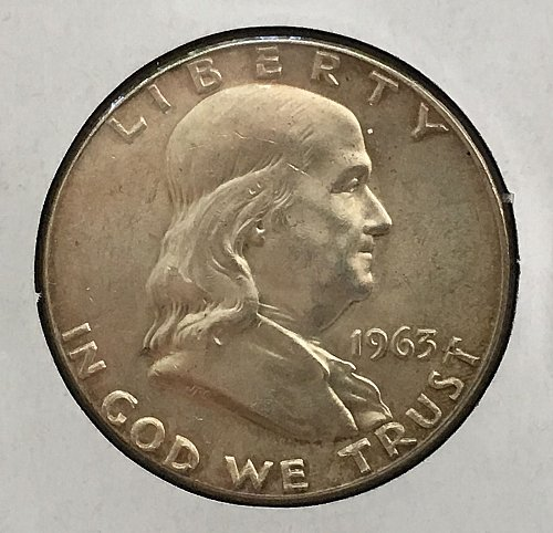 1963 P Franklin Half Dollar