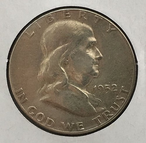 1952 P Franklin Half Dollar