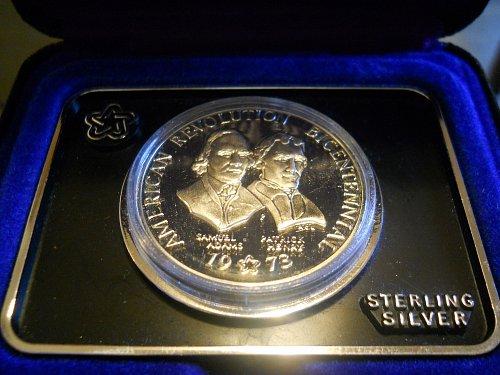1973 Bicentennial Silver Medal
