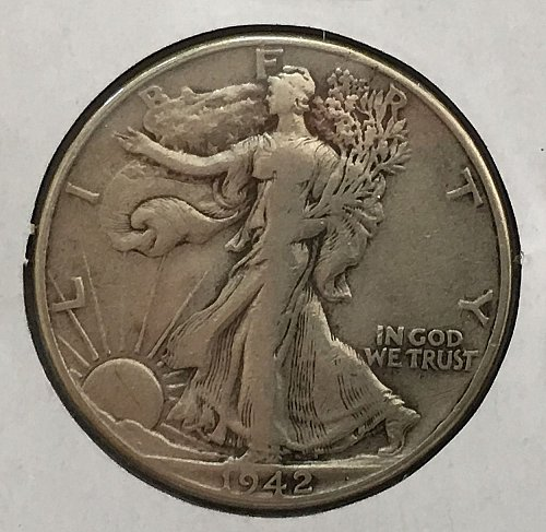 1942 P Walking Liberty Half Dollar