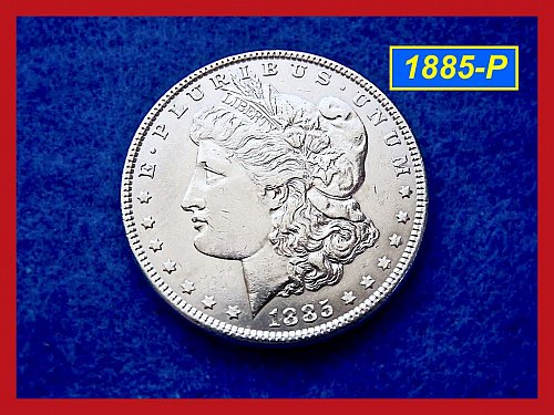 1885-P Morgan Silver Dollar 🎯 Circulated