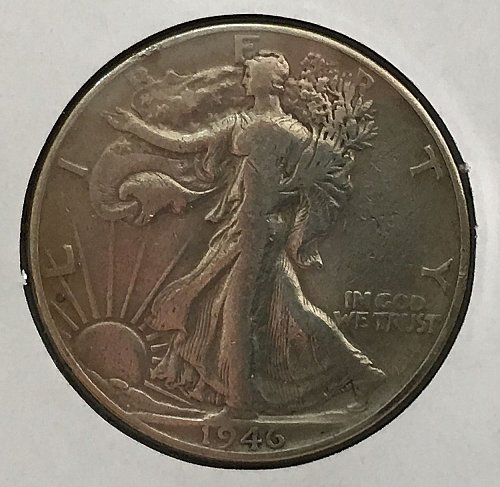 1946 P Walking Liberty Half Dollar