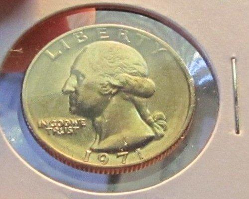 1971 WASHINGTON QUARTER/ FROM MINT SET