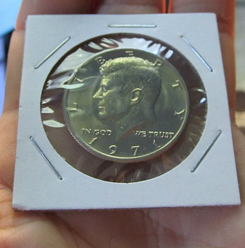 1971 KENNEDY HALF/FROM UNC SET