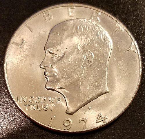 1974-D Eisenhower Dollar (6386)