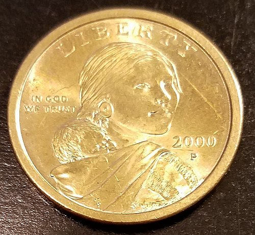 2000-P Sacagawea Dollar (6389)