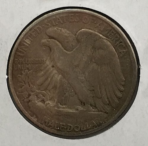 1944 P Walking Liberty Half Dollar - Toned