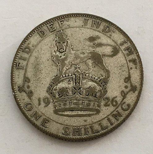 1926 Great Britain Shilling - Silver