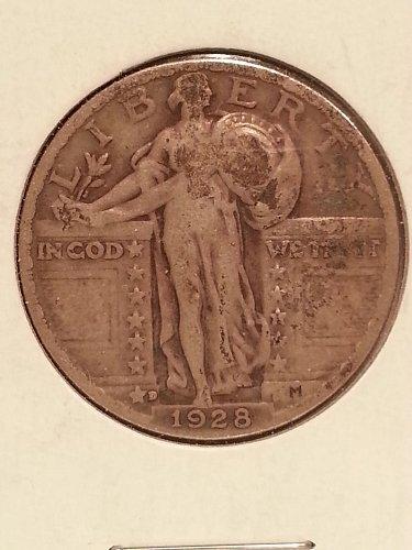 1928-D Standing Liberty Quarter