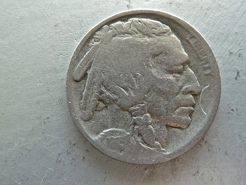 1915 - S Buffalo Nickel