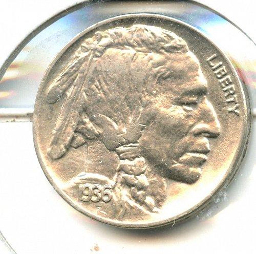 1936 A well struck coin with good detail Gem Bu
