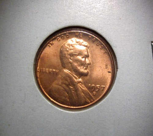 1957 D Lincoln Cent Small Cents – Nice Penny