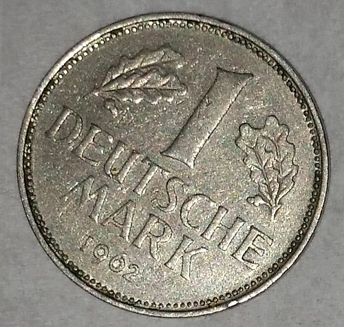 1962 1 Deutsche Mark