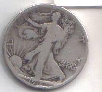 1916 P  WALKER HALF DOLLAR
