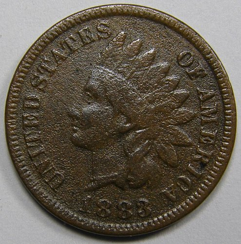 1883 P Indian Head Cent #12