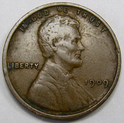 1909 P Lincoln Wheat Cent #4