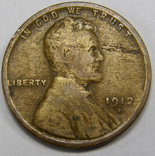 1912 D Lincoln Wheat Cent #3