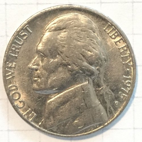 1975 D Jefferson Nickel