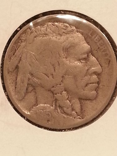 1915-D Buffalo Nickel