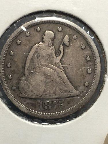 1875 S Twenty Cent