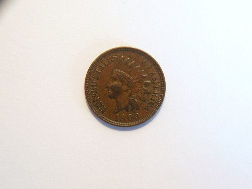 1903-P Indian Head Cent