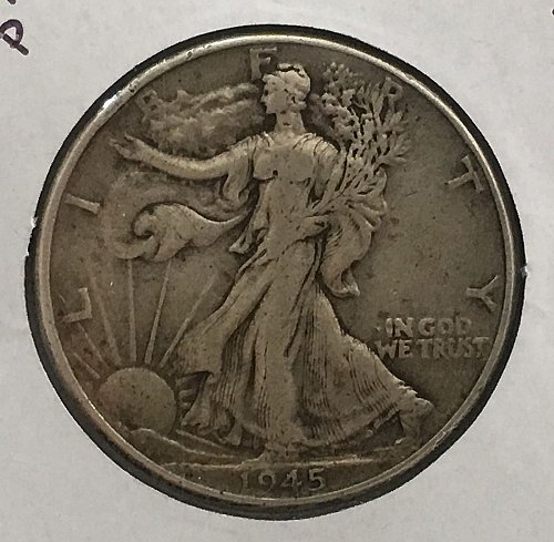 1945 P Walking Liberty Half Dollar