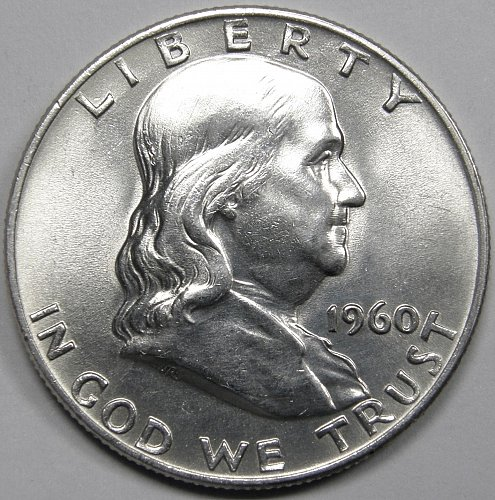 1960 D Franklin Half Dollar #2