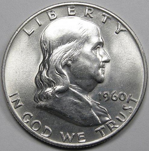1960 D Franklin Half Dollar #2