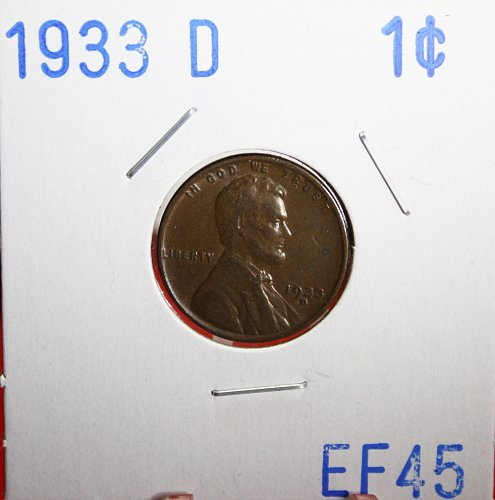 1933 D Lincoln Cent