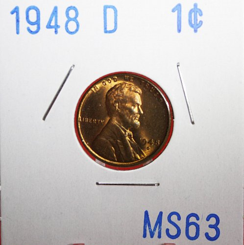 1948 D Lincoln Cent