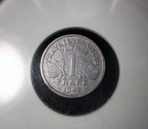 1942 France 1 Franc