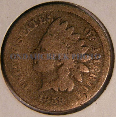1859 Indian Head Cent AG