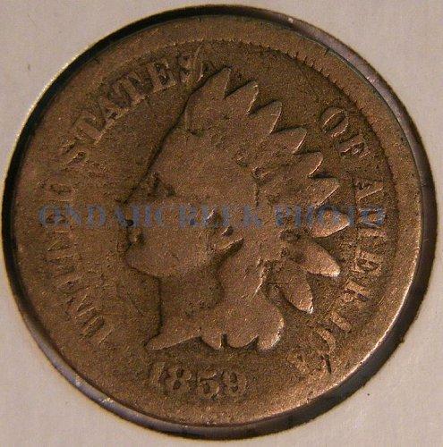 1859 Indian Head Cent AG