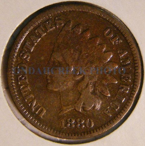 1880 Indian Head Cent VG