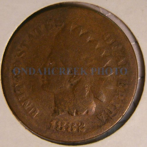 1882 Indian Head Cent Good
