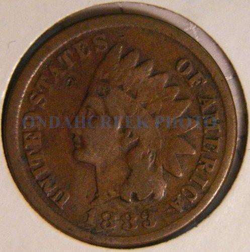 1883 Indian Head Cent Good