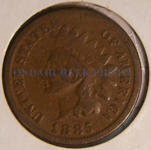 1885 Indian Head Cent Good