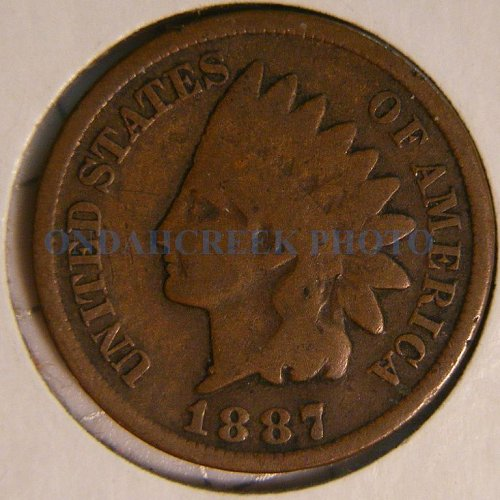 1887 Indian Head Cent Good