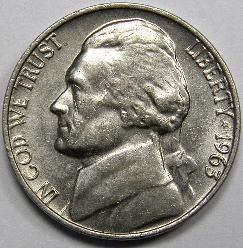 1963 D Jefferson Nickel #1