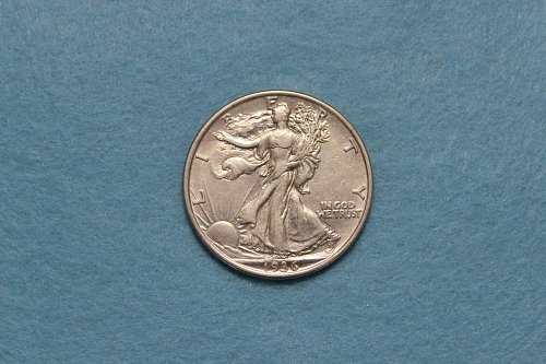 1936 P Walking Liberty Half Dollar